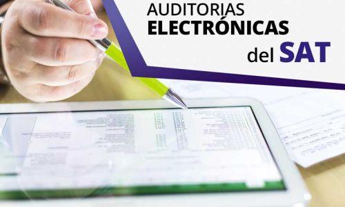 Revisiones electrónicas por parte del Servicio de Administración Tributaria